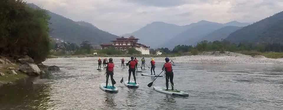 Sup Adventure in Bhutan