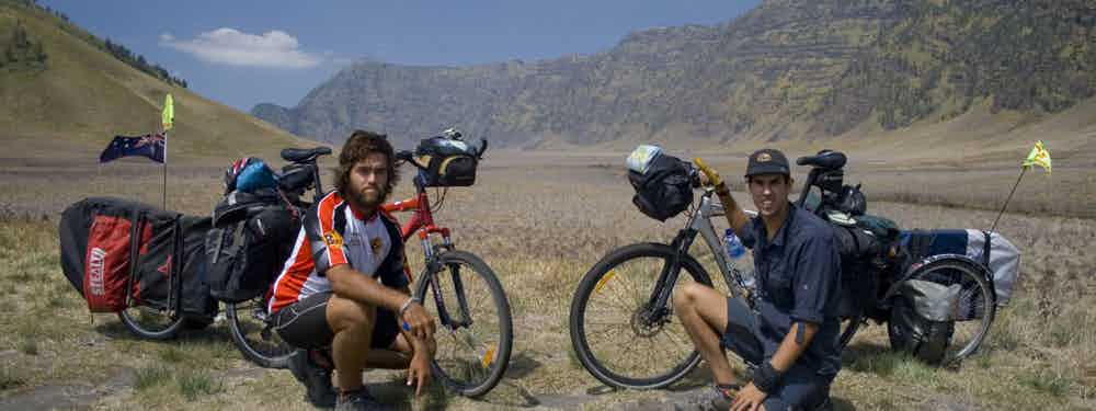 Biking Over A Volcano