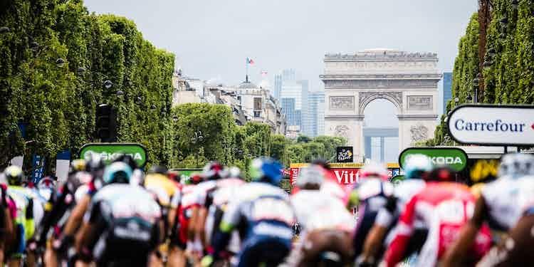 Copyright Trek Bikes France Tour De France editorial only
