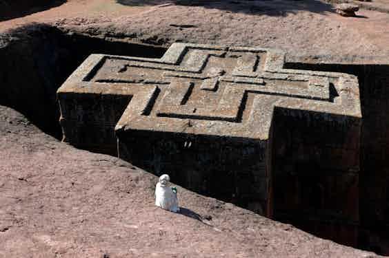Ethiopia_Lalibela_church_iStock-184922214