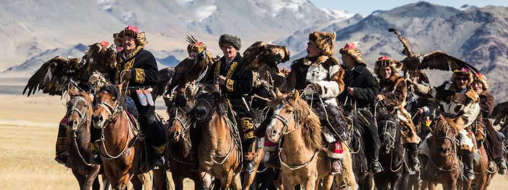 Mongolia's Golden Eagle Festival