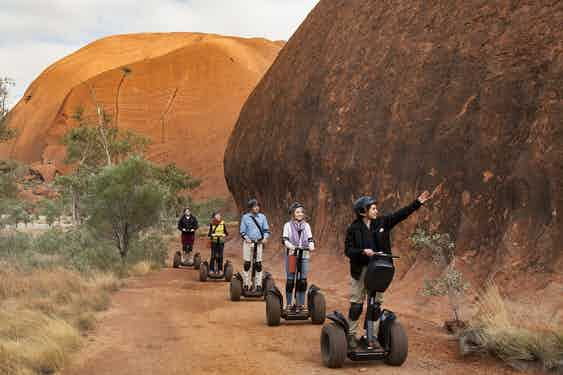 Segway at Uluru