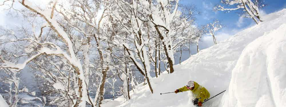 Skiing With Kids In Japan