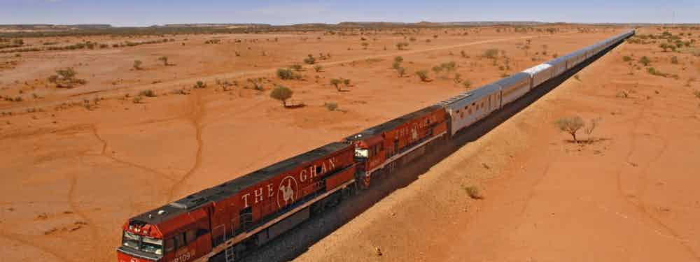 Train Journey Across Australia's Outback