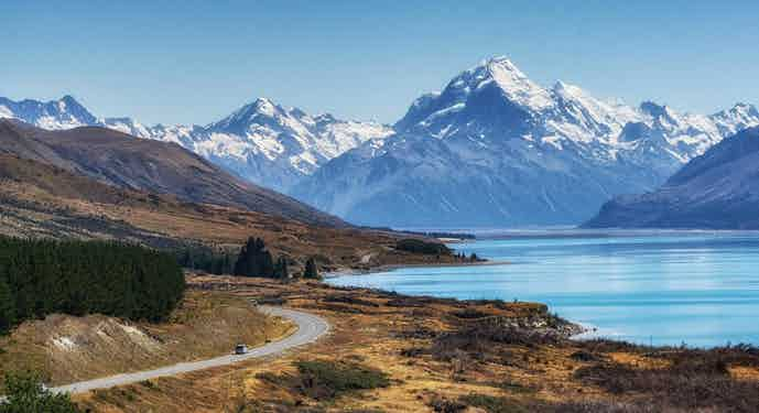 TREK NEW ZEALAND WITH SPORTING LEGENDS