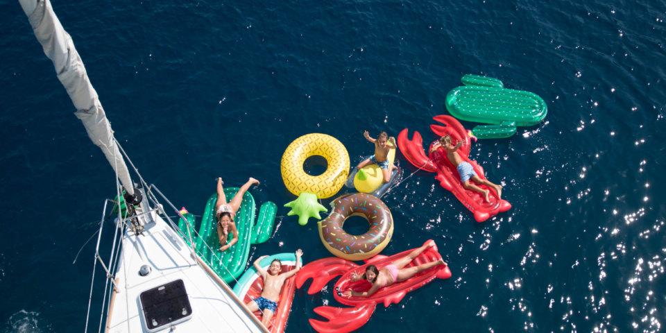 Crossing The Sea Greece