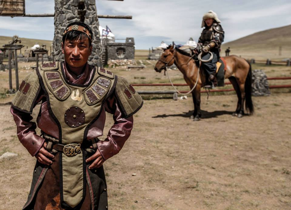 Fighting A Mongolian Wrestler
