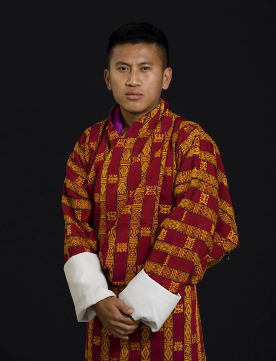 """What makes you happy? """"Eating CFC Gahah [Bhutanese version of KFC]."""" - JImme, 20, student"""