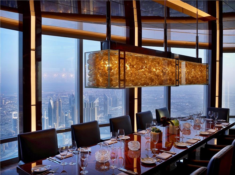 Dubai Burj Khalifa Atmosphere Private Dining Room