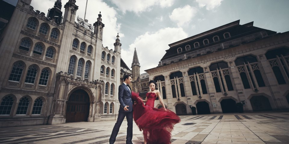 China's Love For UK Pre-Wedding Shoots