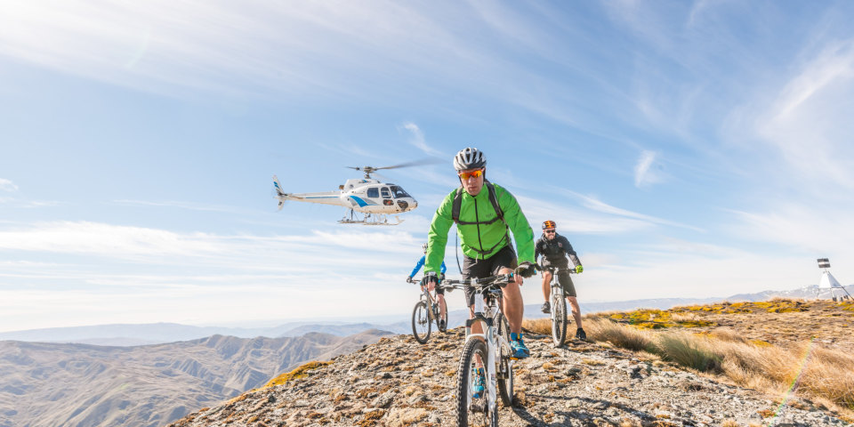 Heli-Biking In New Zealand