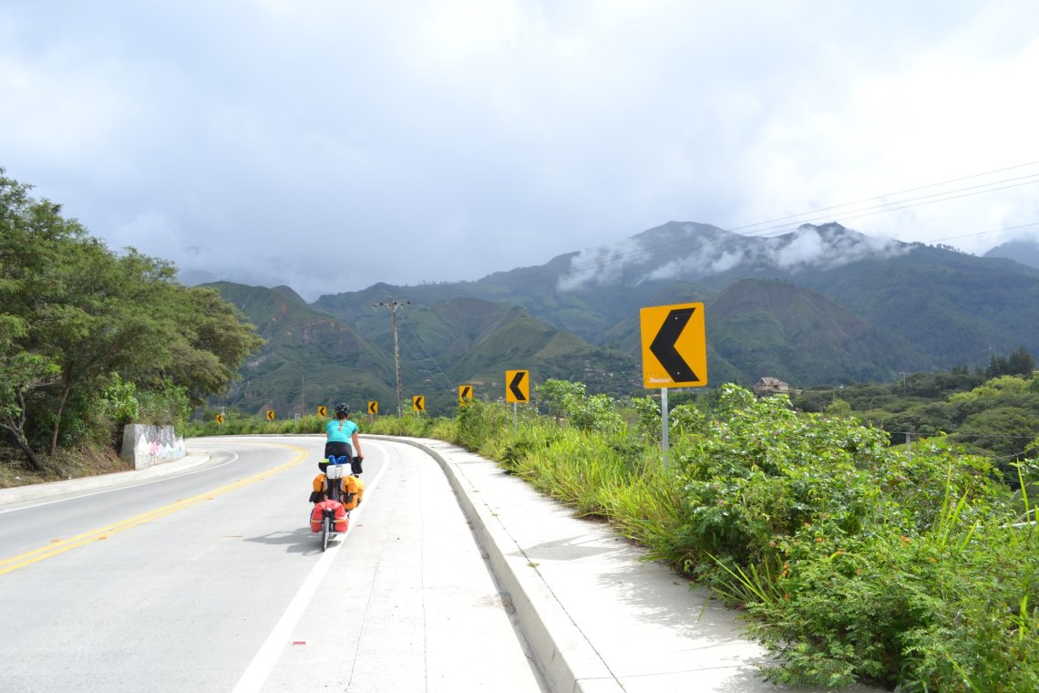 Cycling Across South America