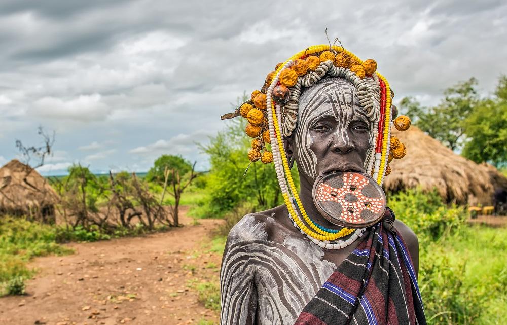 Ethiopia Mursi tribe