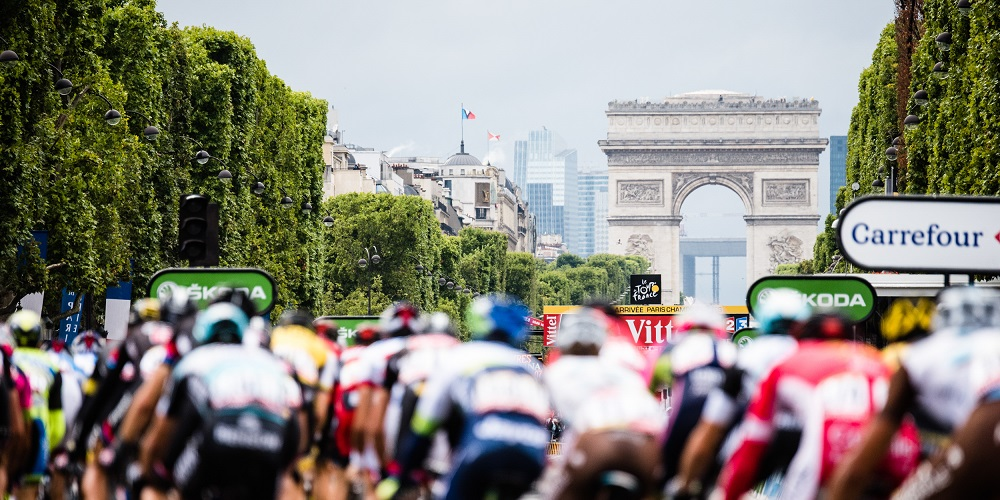 France Tour De France editorial only