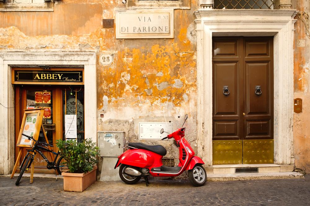 Vespa Rome