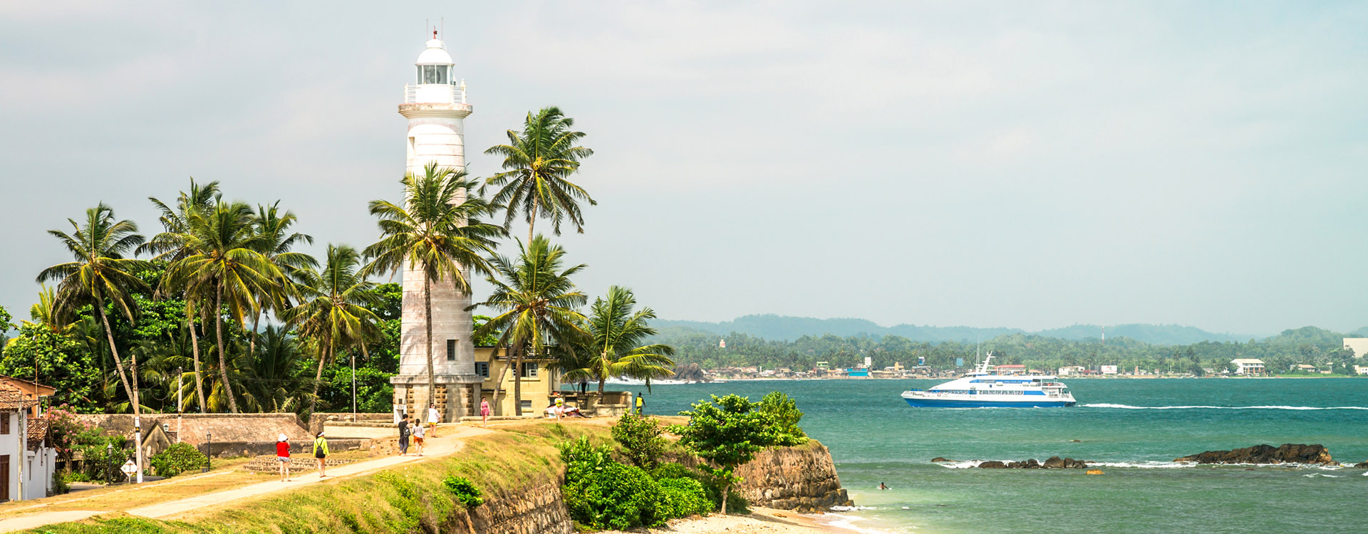 Sri Lanka. Galle. The Fort Galle. The lighthouse.