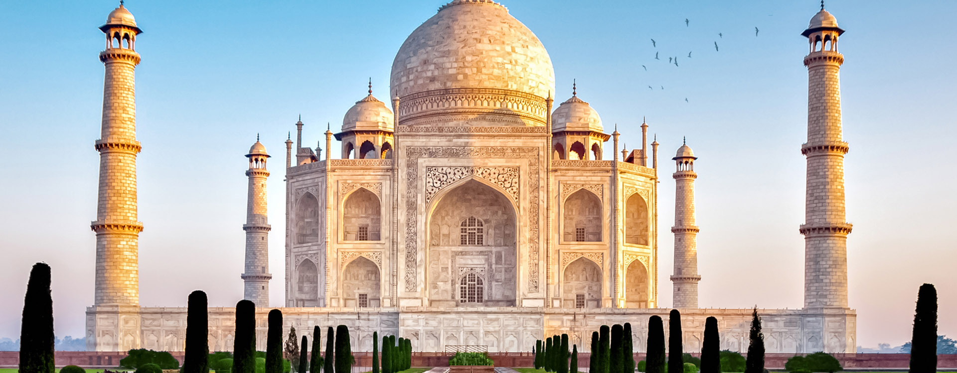 the taj mahal in the indian region uttar pradesh