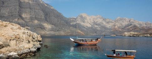Fjords near Khasab, Musandam, Oman
