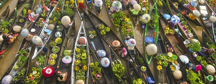 Indonesia Floating Market