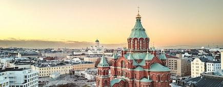 Uspenski Cathedral, Helsinki Finland