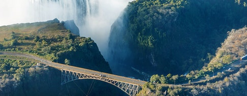 The falls and the surrounding area is the National Parks and World Heritage Site