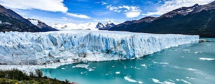 Views of the Perito Moreno Glacier in Patagonia, Argentina
