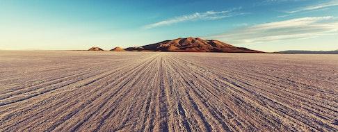 salt flat in Bolivia