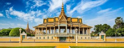 Cambodia, central Phnom Penh, Wat Phnom temple