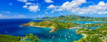 Shirley Heights, Antigua view