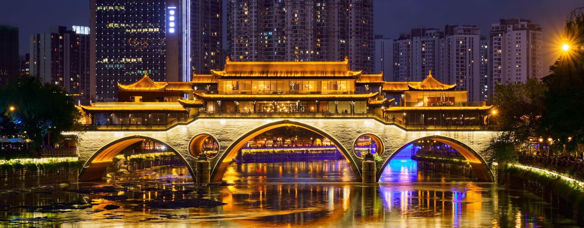 China, Chengdu, Jiuzhaigou National Park, clear water lakes