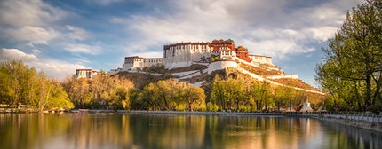 Tibetan fort, Gyangze, central Tibet