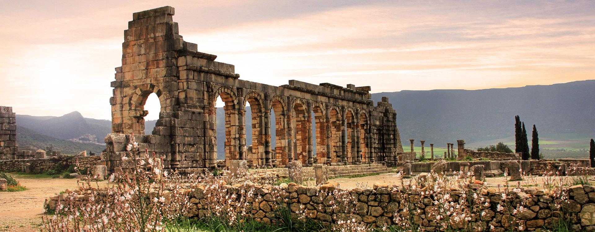 Volubilis, Roman city of antiquity in Morocco