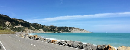 Palliser Bay driving route, wellington, wairarapa, New Zealand