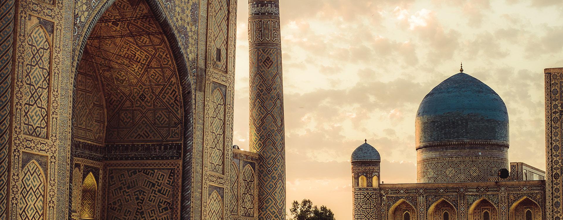 Uzbekistan (Samarkand mosque) Bibi-Xonim masjidi, central Asia