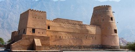 Bukha fort in Musandam Oman