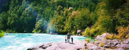 Hiking Patagonia Chile Futaleufu River South America Outdoors Family Travel