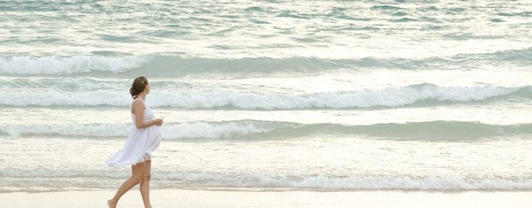 Babymoon by the sea