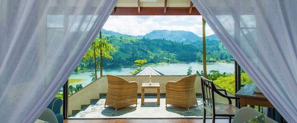 Sri Lanka, Camellia Hills, Hotel Exterior