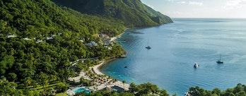 Sugar Beach, A Viceroy Resort_General Aerial